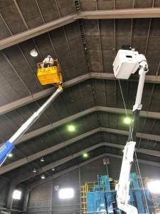 プロト水銀灯LED更改修工事7