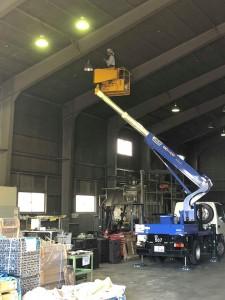 プロト水銀灯LED更改修工事2