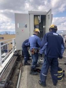 東山自動車・高圧受電設備改修工事9