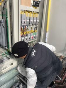 東山自動車・高圧受電設備改修工事1