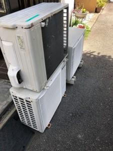 エアコン撤去工事④