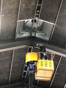 天井換気扇電源工事⑤