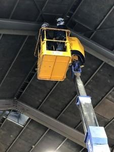 天井換気扇電源工事②