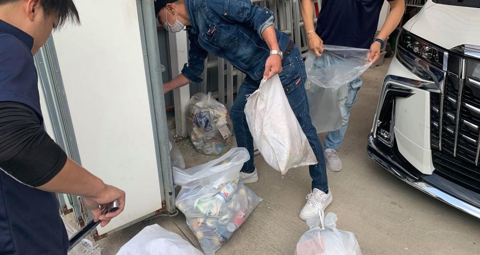 ゴミ拾い③