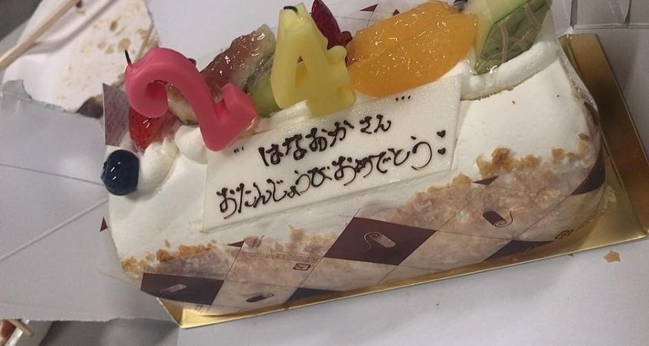 花岡氏誕生日BBQ⑭